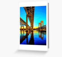 Taming the Thames River Greeting Card