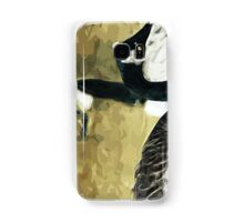 Canada Geese on Water Abstract Impressionism Samsung Galaxy Case/Skin