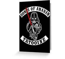Sons Of Anakin Greeting Card