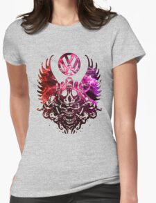 Skull VW  Womens Fitted T-Shirt