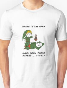 Where is the Map Tingle ? T-Shirt