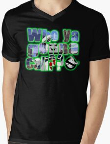 Stay Puft Mens V-Neck T-Shirt