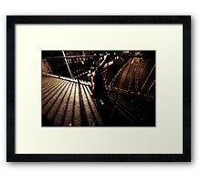 Weight of the soul  Framed Print