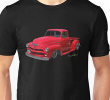 54 Chevy Pickup Get Down Outta Town T-Shirt Unisex T-Shirt