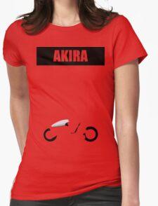 Akira minimalist Womens Fitted T-Shirt