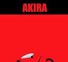 Akira minimalist by littlekitsune
