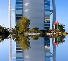 Burj Al Arab by Fern Blacker