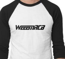 WeeemRCB #1   All Black Men's Baseball ¾ T-Shirt