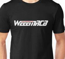 WeeemRCB #1    White / Red www Unisex T-Shirt