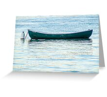 The Fisherman's Boat Greeting Card
