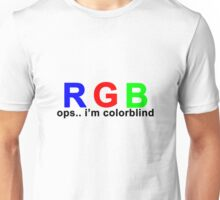 Colorblind Unisex T-Shirt