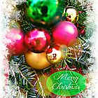 Christmas Ornaments greeting card by Scott Mitchell