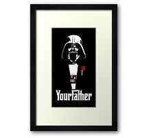 Your Father! Framed Print