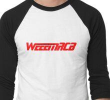 WeeemRCB #1    Red / Black www Men's Baseball ¾ T-Shirt