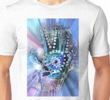 Hand Splash Blue Unisex T-Shirt