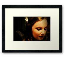 Wedding Flower Girl Framed Print