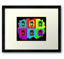 Warhol Kombat Framed Print