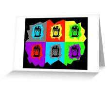 Warhol Kombat Greeting Card
