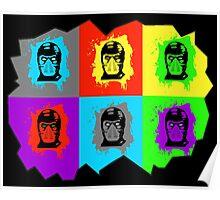 Warhol Kombat Poster