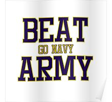 Go Navy Beat Army Poster