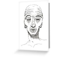 Inhuman Greeting Card