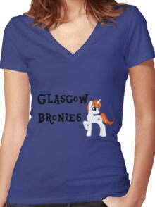 Glasgow Bronies T-shirt Women's Fitted V-Neck T-Shirt