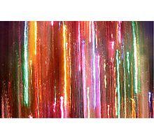 Christmas Light Abstract Photographic Print