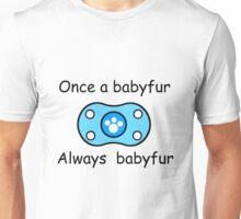 Babyfur Pride (Blue) Unisex T-Shirt