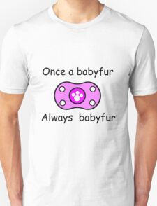 Babyfur Pride (Purple) T-Shirt