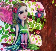 Tahlia the Tree Fairy by TwistyrobDesign