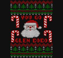 Funny  You Go Glen Coco Ugly Christmas Sweater Men's Baseball ¾ T-Shirt