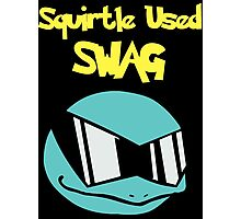 Squirtle Used Swag Photographic Print