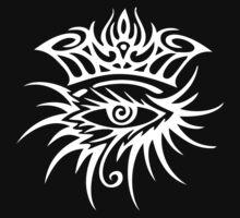 Bob Dylan Logo White by Stt2Design