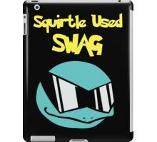 Squirtle Used Swag iPad Case/Skin