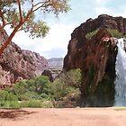 Waterfall Canyon by Arod28