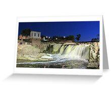 Fall at the Falls Greeting Card