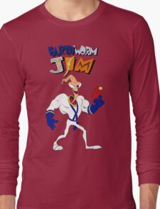 Earthworm Jim Long Sleeve T-Shirt