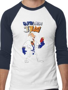 Earthworm Jim Men's Baseball ¾ T-Shirt