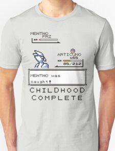 Mewtwo is caught! T-Shirt