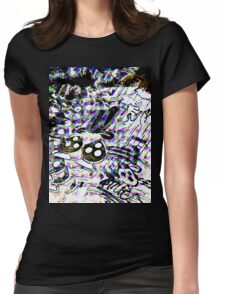 Skatey Trippy Womens Fitted T-Shirt