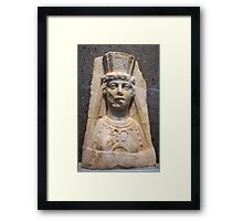 The Bust of Aphrodite Framed Print