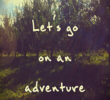 Adventure by ToriJustCuz