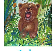 LUKE roaring bear by Monica Batiste