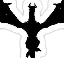 Skyrim Dragon Sticker