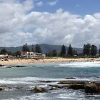 North Wollongong Beach by GeorgeOne