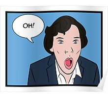 Sherlock Pop Art Poster