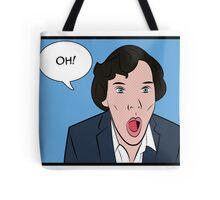 Sherlock Pop Art Tote Bag