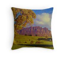 Mt Roland, Tasmania Throw Pillow