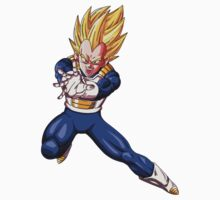 Dragon Ball Z Vegeta SSJ by HotTuna