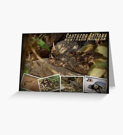 Southern AZ Critters Greeting Card